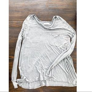 Abercrombie & Fitch flowy long sleeve tee